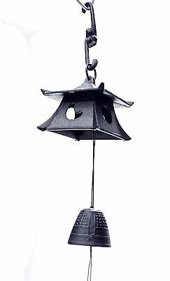 風鈴 FURIN METAL - Cloche à vent - Grand Temple - Made in Japan