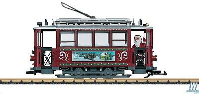 Lgb 72351 Christmas Trolley Set Complete With Track And Transformer Sale
