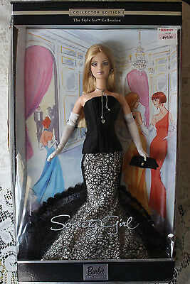 2001 Barbie Society Girl Collector Edition The Style Set Collection