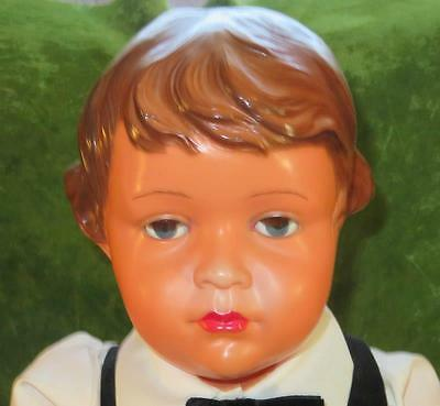 """Rare Antique 23"""" SNF French Celluloid Claudinet Doll"""