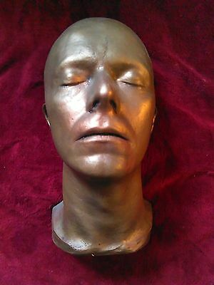 Life Mask casting of DAVID BOWIE