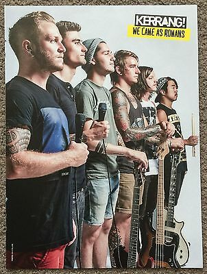 WE CAME AS ROMANS - full page magazine poster