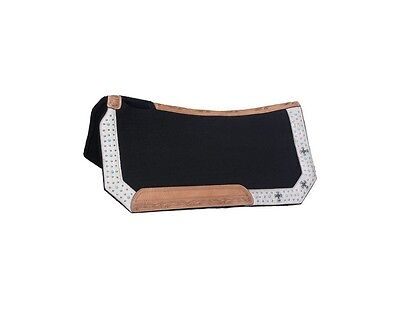 Tough-1 Saddle Pad Desert Hope Collection 28 x 30 White 31-2735
