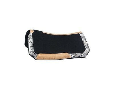 Tough-1 Saddle Pad Greyson Buckle Set Bling Accents 28 x 30 31-7755