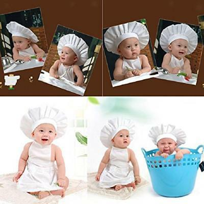 Little Chef Grembiule Chef Cap Costume Newborn Photography Prop Outfits