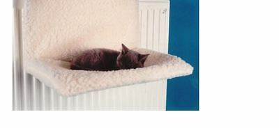Radiator Cat Bed, Warm Comfortable Pet Sleeping Hammock, Strong Metal Frame