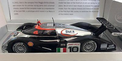 SLOT.IT AUDI R8C 10th ANNERVERSERY LIMITED EDITION - NEW