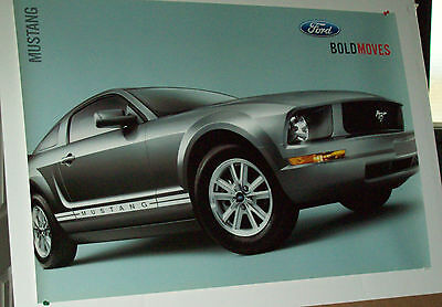 Ford  Dealership Poster  Bold Moves Mustang