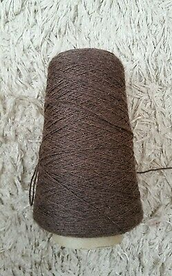 Approx 290g cone 4ply pure wool. See description and photos
