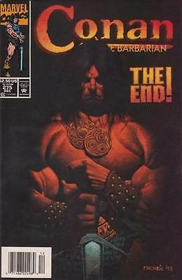 Conan The Barbarian #275 Newsstand Variant! Rare Last Issue-Low Print Run! Nm/mt