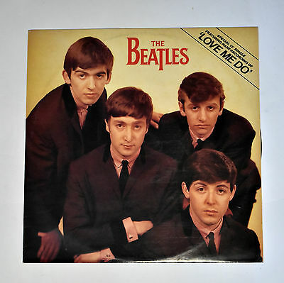 """The Beatles """"Love Me Do / PS I Love You"""" 12"""" 45rpm  1982"""