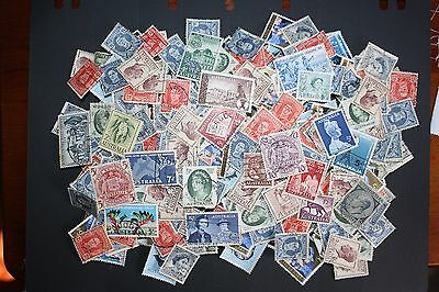 100's Australian Pre Decimal Bulk Stamps Many Fine used from clean album LOT11