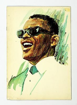 Ray Charles 1967 The Ray Charles Show Tour Program Book
