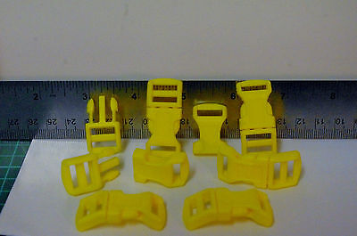 Plascit Quick Side Release Buckle  Yellow