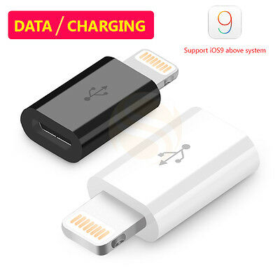 Portable Micro USB to Apple Lightning Connector Adapter For iPhone 5/6 iPad Mini