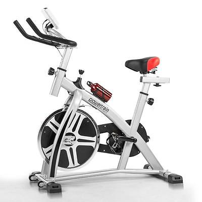 Exercise Flywheel Heavy Duty Spin Bike Bicycle Fitness Home Gym Commercial 32KG