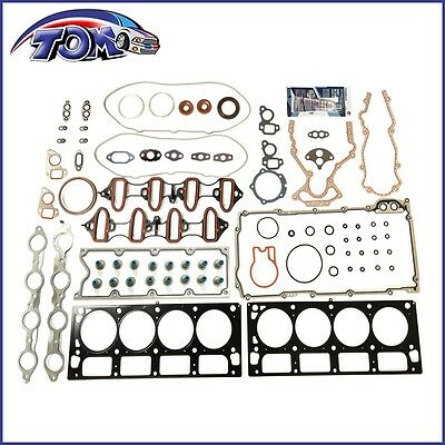"Brand New Head Gasket Set For Cadillac Gmc Chevrolet Hummer 6.0L Ohv ""n, U""  Mls"