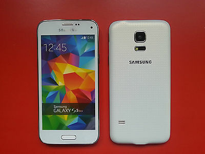 Samsung Galaxy S5 mini in Weiß Handy DUMMY Attrappe - Modell, Deko, Requisit