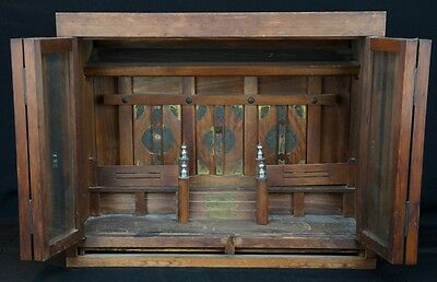 Antique Kamidana altar Japanese Shinto shrine 1900 Japan traditional Shamanism