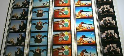 Disney's - Song of the South -  Very Rare Unmounted 35mm Film Cells - 5 Strips
