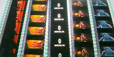 Disney's - Monsters Inc-  Rare Unmounted 35mm Film Cells - 5 Strips