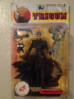 Trigun Vash The Stampede Action Figure Exclusive Repaint Gray McFarlane Toys