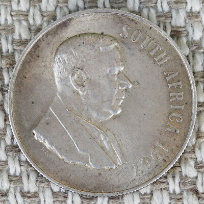1967 South Africa 1 RAND Silver Coin