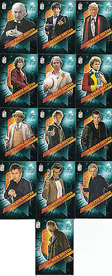 Topps Doctor Who 2016 Timeless 13 Card The Doctors Across Time Set