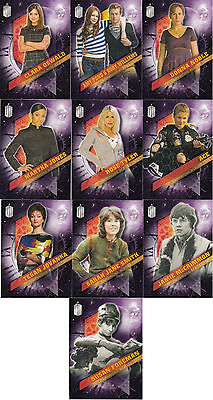 Topps Doctor Who 2016 Timeless 10 Card Companions Across Time Set
