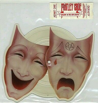 Motley Crüe - Smokin In The Boys Room - 1985 Limited Warner Shaped Picture Disc