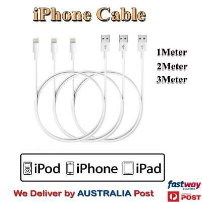 1M 2M 3M USB Sync Data Charging Cables Cord for Apple iPhone 7/7+ 6/6S Plus 5/5S