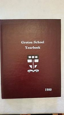 1980 Groton School Yearbook, Groton, Massachusetts