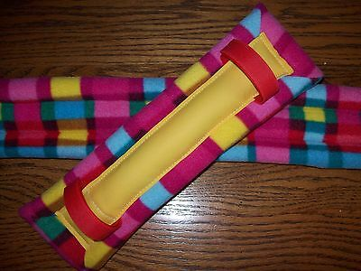 horse drawn buggy,cart,harness New Plaid Mini Horse/Pony Size Harness Pads !!