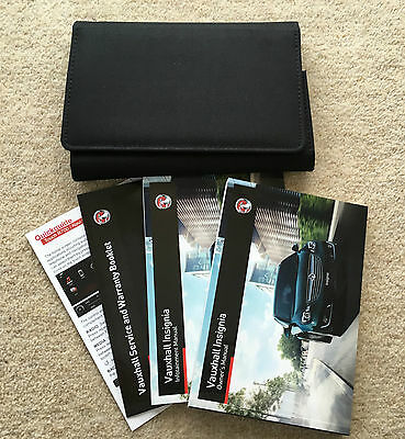 Vauxhall Insignia Genuine Owners Manual Handbook + Service Book 2013-2015 #3620