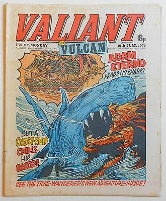VALIANT and VULCAN Comic - 10th July 1976