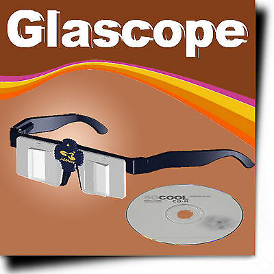 Glascope (Revolutonary Stereoscope/3D Stereo Viewer)+Japan Set Stereoview
