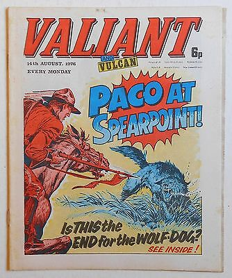 VALIANT and VULCAN Comic - 14th August 1976