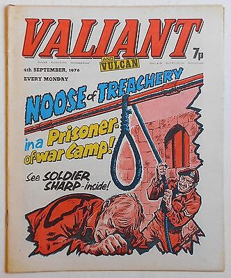 VALIANT and VULCAN Comic - 4th September 1976