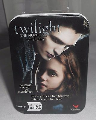 Twilight The Movie - CARD GAME -  not trading cards  NEW Sealed in Tin!