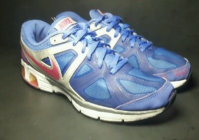 Nike Air Max Run Lite 4 Athletic Running Sneaker Shoes Girls Size 7 Youth Puple
