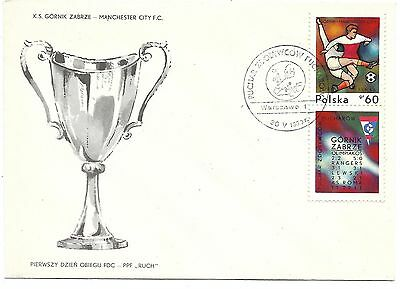 1970 EUROPEAN CUP WINNERS' CUP FINAL POSTAL COVER MANCHESTER CITY v GORNIK