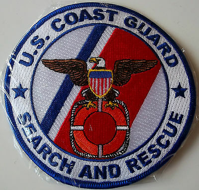 USCG patch Search and Rescue 4-1/2 inch diameter