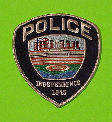 Independence  Oregon  1845  Or  Police Patch   Free Shipping!!!