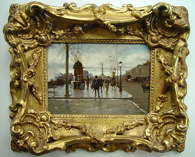 Amazing Original Impressionist Painting! PARIS 19th Century!!!