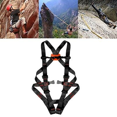 Full-Body Harness Professional Rescue Caving Ascent Belt Safety Gear Equipments