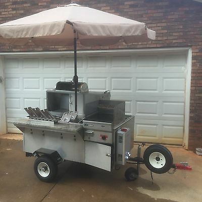 2016 Commerical Built Mobile Food Cart