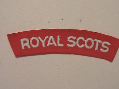 Insigne Badge Commonwealth Royal Scots