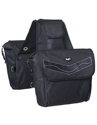 Tough-1 Saddle Bag Insulated Padded D Ring Attachments 61-4730