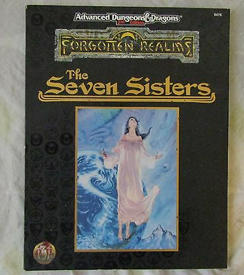 AD&D the Forgotten Realms The Seven Sisters  Good Condition