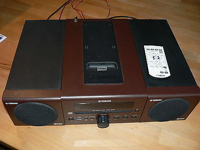 yamaha tsx 132 mikro anlage ipod soundsystem mit cd player. Black Bedroom Furniture Sets. Home Design Ideas